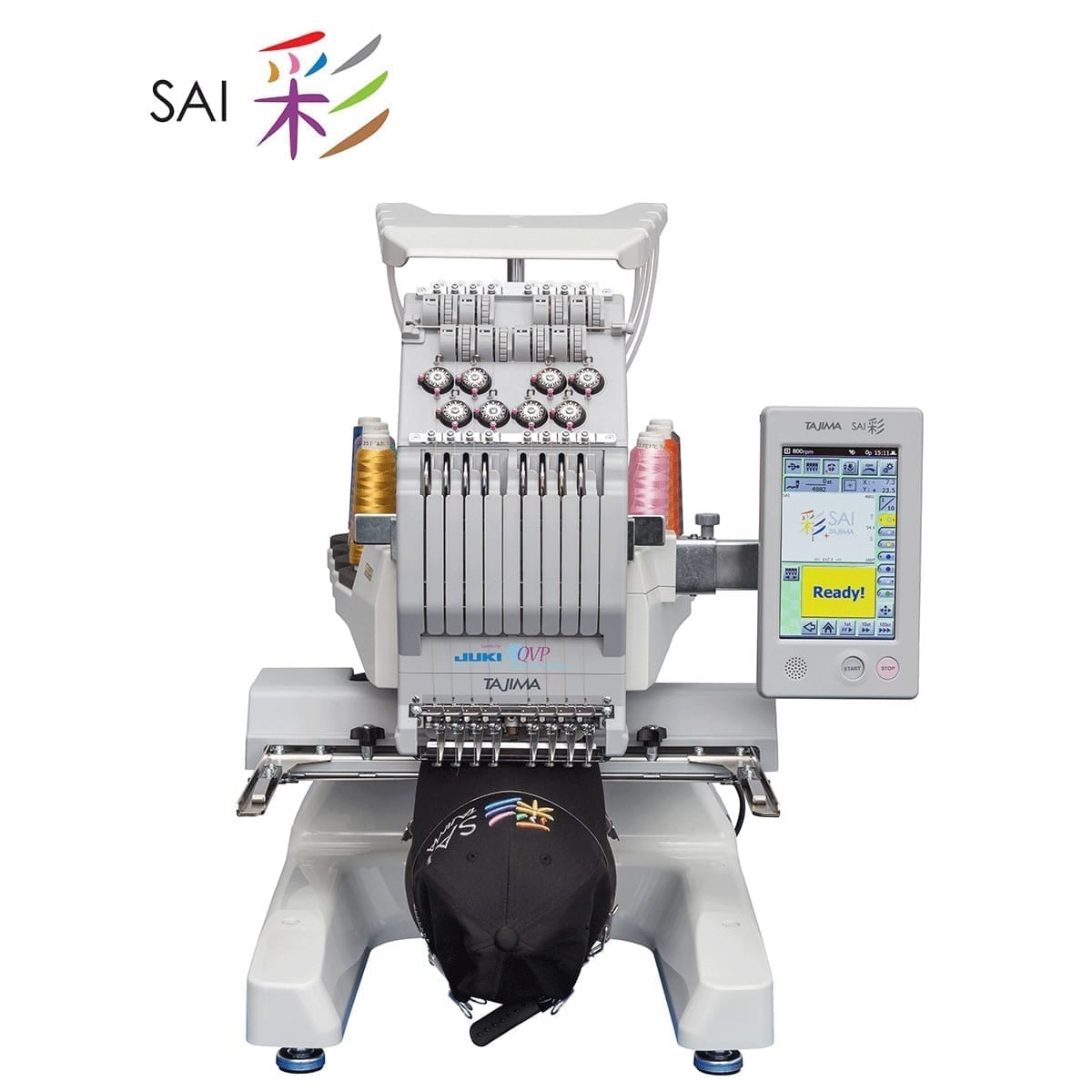 Juki Tajima Sai 8 Needle Embroidery Machine With Multi