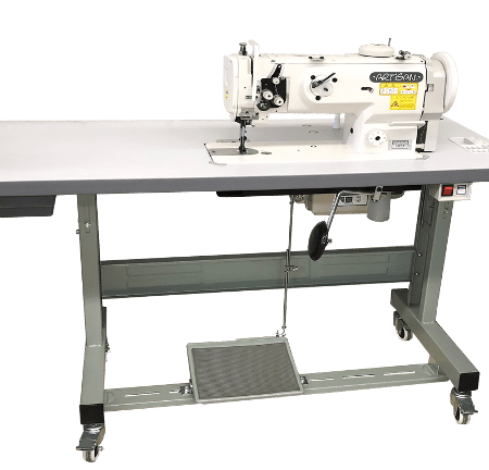 artisan sew flat bed walking foot machines