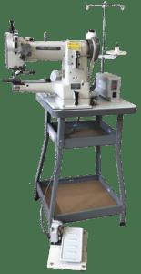 335 B SAVR Space Saving Economical Pedestal cylinder arm sewing machine