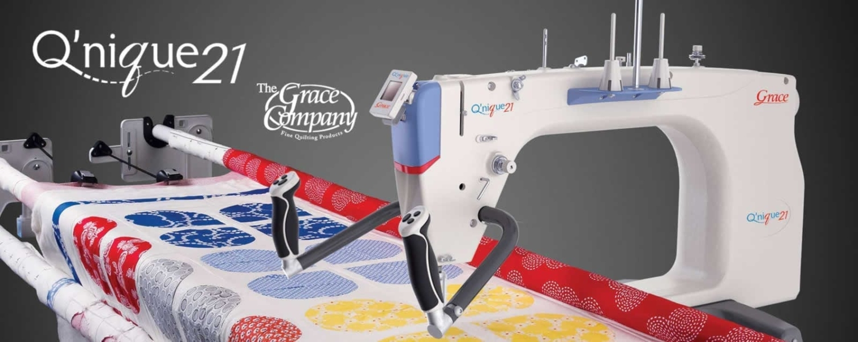 Grace Q'nique 21 Long Arm Quilter