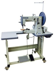 "Artisan TORO-3200 w/ ""U"" Table cylinder arm sewing machines"