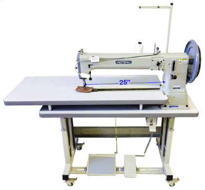 ARTISAN SEW TORO 4000 LA 25 on Flat Table with Work Platform