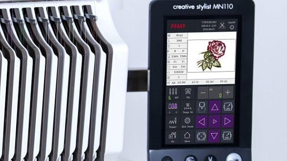 PFAFF Creative Stylist™ Multi-Needle 110