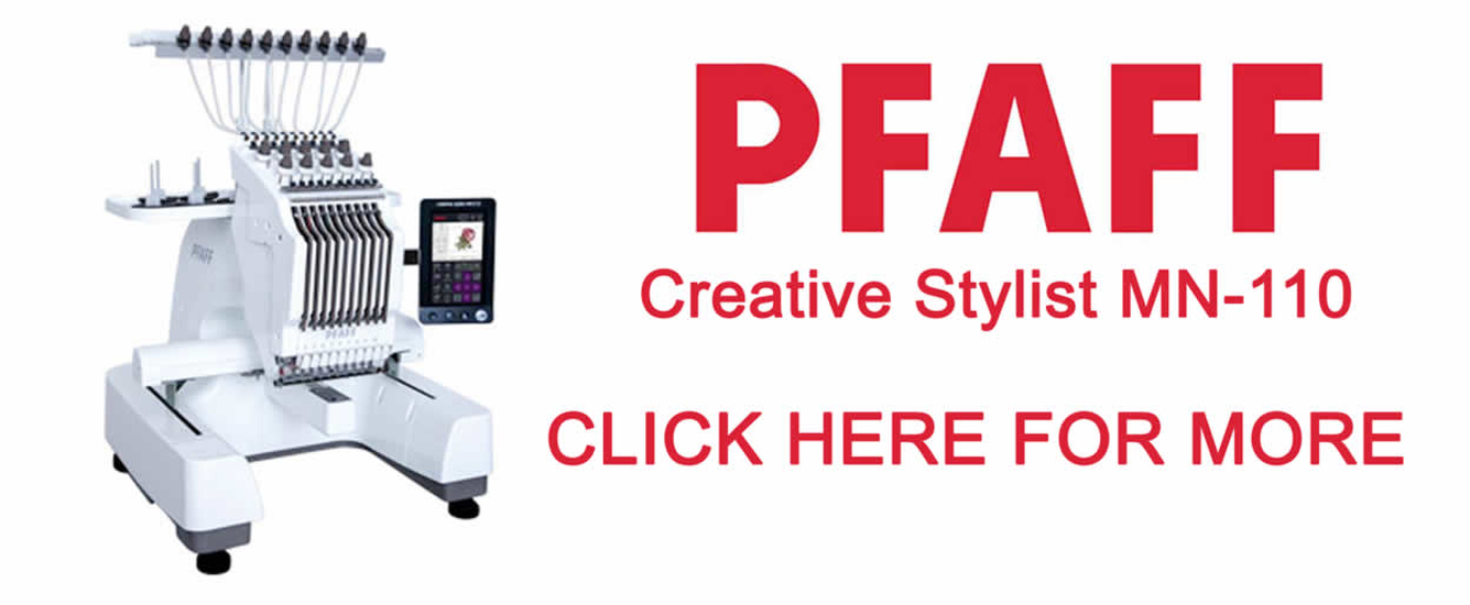 PFAFF Creative Stylist MN-110 Embroidery Machine