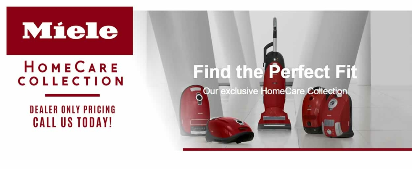 Miele HomeCare Collection Vacuums