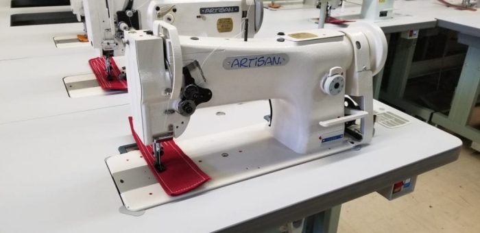 artisan 206RB Compound Needle Walking Foot Sewing Machine