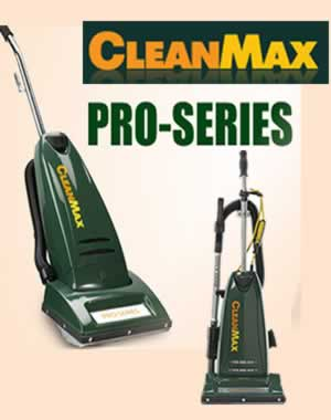 CleanMax Pro Series Vacuums