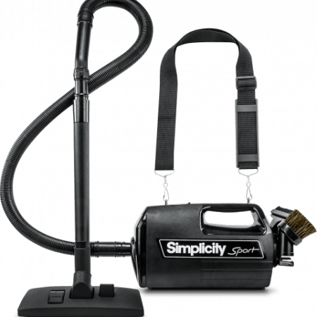 Simplicity S100 Sport Portable Canister with Shoulder Strap