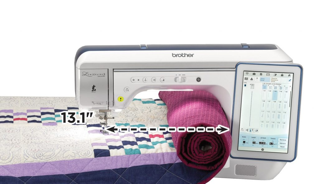 Brother Luminaire 2 Innov-is XP2 Sewing & Embroidery Machine