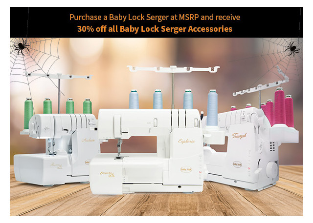 Baby Lock October 2020 Promotions