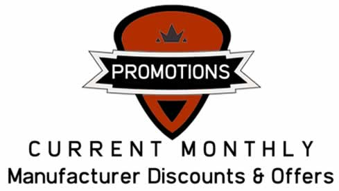 Current Monthly Manufacturer Discounts, Specials and Offers
