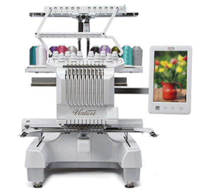 Baby Lock Venture 10-Needle Embroidery Machine