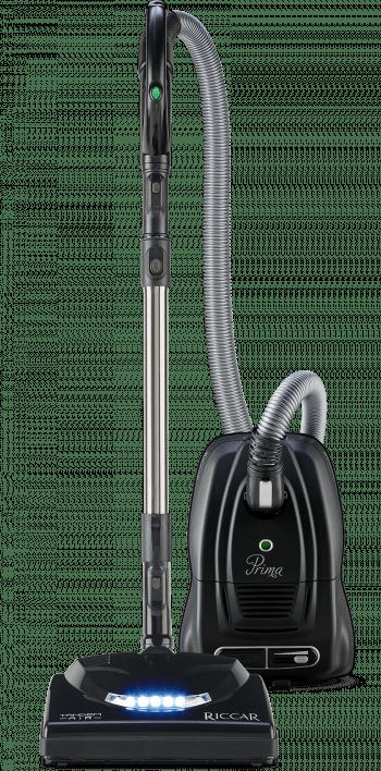 Riccar Prima Power Team Canister Vacuum with Premium Tandem Air Nozzle